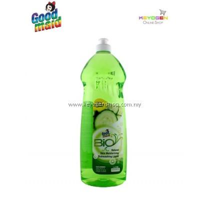 (READY STOCK) Goodmaid Natural Skin Moisturizing Bio Dishwashing Liquid 1L - Cucumber