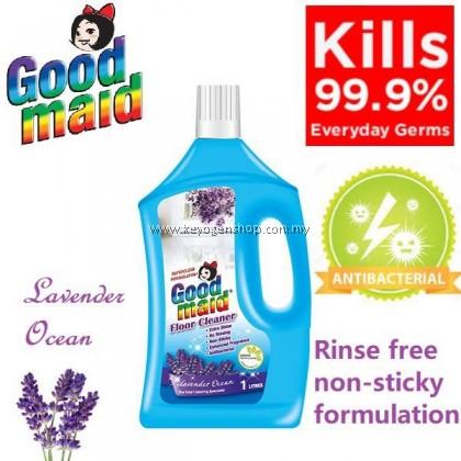 (READY STOCK) Goodmaid lavender ocean anti-bacterial floor c cleaner 1L - no rinsing
