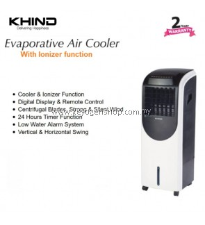 Khind Evaporative ionizer Air Cooler EAC200 with Remote Control - 20L