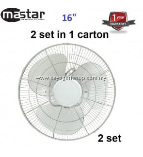 Mastar MAS-816OF(A) 2 set in 1 carton 16'' Orbit Fan-1 Year WRTY