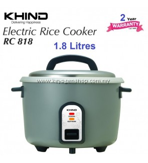 Khind Rice Cooker (1.8 Liter) RC818N With Auto Keep Warm Function
