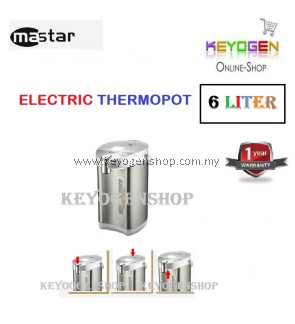 ( flash sale ) Free Shipping GOOD BRAND Mastar Thermopot 6 Liter MAS-600AP Automatically Keep Warm After Boiling pot MUST BUY!