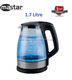 Mastar MAS-988GKJ -1.7L Glass Jug Kettle-1 Year WRTY