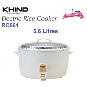 Khind Rice Cooker RC561with Automatic Keep Warm Function