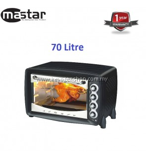 Free delivery Mastar MAS-60PR(A) 70L Electric Oven promotion-1 Yr WRTY