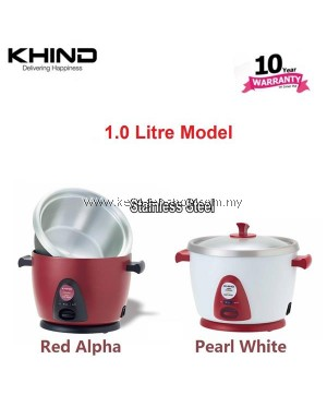 Khind Anshin Rice Cooker RC110M stainless steel