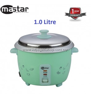 Mastar MAS-10NRC - 1L Rice Cooker-1 Year WRTY