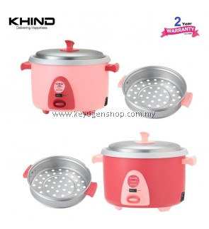 KHIND Rice Cooker - Crust Free Series RC910 - 1.0L - for 7 member