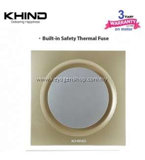 Khind Ventilation fan VF102 - 10' fan blade - stylish design - fused