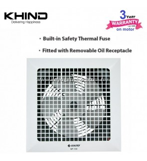 "Khind Ventilation fan VF100 - 10"" fan blade - built in thermo fuse"
