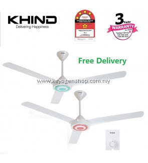 Khind CF610 (2 set) 4 star energy efficiency ceiling fan w/ REGULATOR