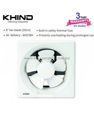 Free delivery KHIND EF8001 8'' Wall Exhaust Fan ( 3 year warranty )