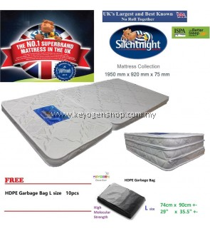 Free Delivery Silentnight Premium Foldable Mattress free gbag L 10