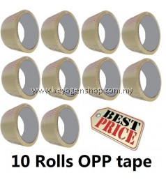Free Shipping Promotion! 10pcs OPP Tape combo set 48mm x 40yard x45mic