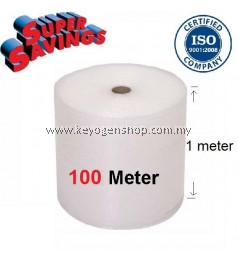 Food grade bubble wrap 1 meter x 100 meter