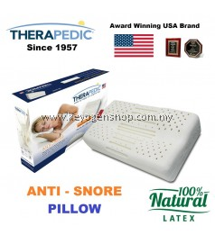 Free delivery USA Therapedic Anti-Snore 100% latex pillow #MYCYBERSALE