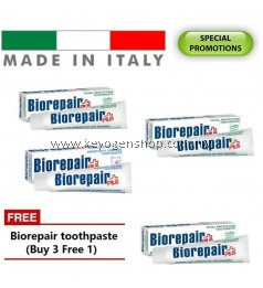 Buy 3 free 1 Made in Italy Award coswell REPAIR ENAMEL toothpaste