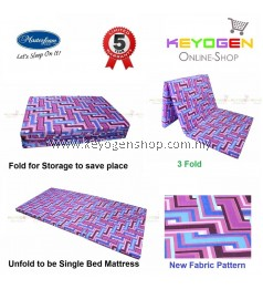 Free Delivery Masterfoam Foldable Foam Mattress with 5 years warranty
