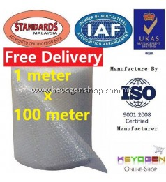 Bubble Wrap Food grade 1 meter x 100 meter - 1M x 100M - for self collect