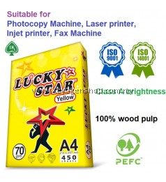 IK Lucky Star carton A4 copy paper 70 gsm luckystar