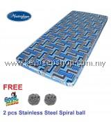 Free shipping Masterfoam 3.5' Single Mattress 5 years warranty free 2 spiral ball #MYCYBERSALE