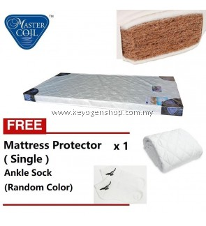 Mastercoil Coconut Fibre Single mattress -FOC mattress protector FOC Sock