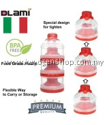 Free delivery Dlami ( italy ) BPA free Baby Milk powder Container #MYCYBERSALE