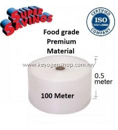 100meter Bubble Wrap Food grade 0.5 meter 500mm width