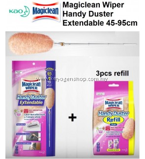 Free delivery Magiclean Wiper Handy Duster Extendable + 3 refill Combo