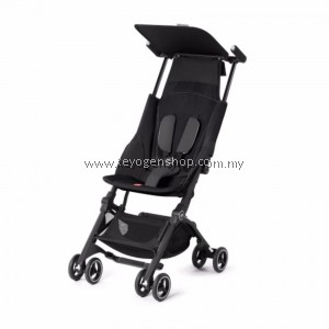 Free shipping Limited deal - gb Pockit Plus reclining Stroller (Black)- Free Mastar thermo pot MAS-355AP(F) #MYCYBERSALE