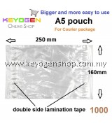 Free Shipping keyogen 1000pcs plastic Courier A5 pocket pouch #MYCYBERSALE
