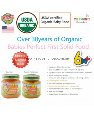 Free shipping EARTH'S BEST ORGANIC Baby Food Sweet Potatoes COMBO Carrots -Babies Perfect First Solid Food (6mth+) #MYCYBERSALE