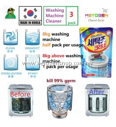 Free Shipping Made In Korea-Sandokkaebi Washing Machine Cleaner 3 PACK #MYCYBERSALE