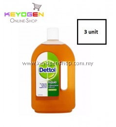 Keyogen 3 unit Dettol Antiseptic Liquid 750ml