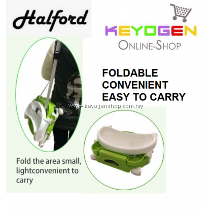 Free shipping Halford Deluxe Folding Booster Seat - 5 Years Warranty PINK & GREY #MYCYBERSALE