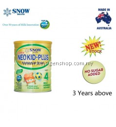 NEW Snow neo kid plus formula milk 900g step 4 (3year+) australia made