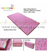 FREE SHIPPING Keyogen 100% Cotton Baby Folding Mattress with carry bag (Random Color) #MYCYBERSALE