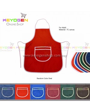 FREE SHIPPING Keyogen 1 unit Apron Kain Local - TC Canvas Material #MYCYBERSALE