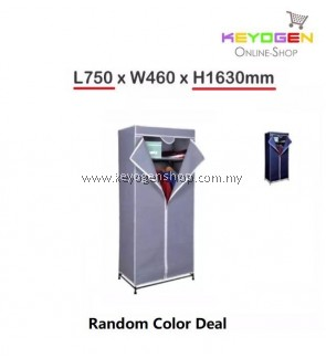 ( flash sale )Keyogen Garment Non Woven Fabric Storage Wardrobe( Color Box) #MYCYBERSALE