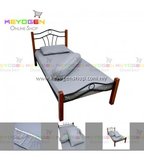 Keyogen Colour Aloe Bedding Set - Random Colour Deal (SINGLE) 1 Bed Sheet + 1 Pillow Cover + 1 Bolster Cover