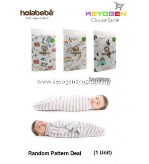 ( flash sale )Holabebe Swaddlebebe Adjustable Infant Wrap A354 (Random Pattern Deal)
