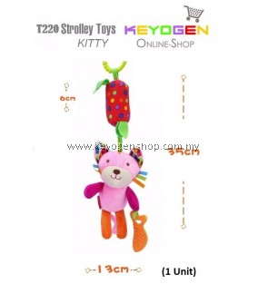 Stroller Hanging Toy Kitty T220