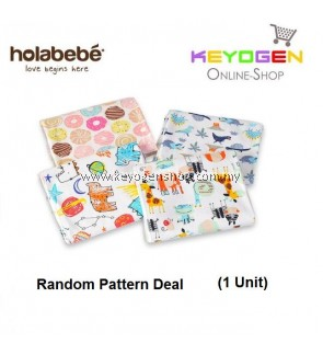 ( flash sale )Holabebe Baby Cotton Blanket A665 (Random Pattern Deal)