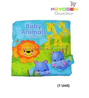 Soft Book Baby Animals Counting Book T006
