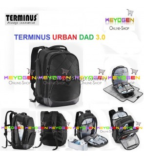 2018 NEW! TERMINUS URBAN DAD 3.0 (NEW) Stylish Diaper Backpack for baby infant diapers storage bag - 1 Year Warranty (RANDOM COLOR,BLUE OR RED)