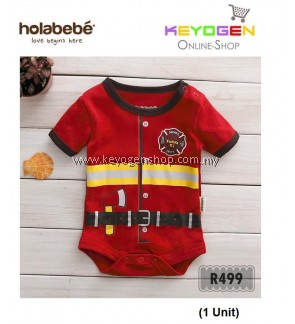 ( flash sale )Holabebe Baby Romper Fireman R499