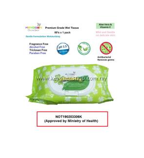 Keyogen Export Grade wet tissue 80s x 2 pack = 160pcs baby wipes