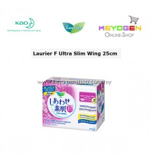 Laurier Sanitary Pad F Ultra Slim Wing 25cm -Made In Japan (NEW!)