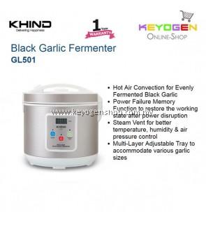 KHIND Black Garlic Fermenter GL501 Hot Air Convection for Black Garlic