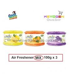 Goodmaid Air Freshener Lavender + Orange + Lemon 100g x 3 Gel (3-in1)